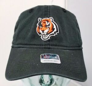 Cincinnati Bengals NFL Women's Black Slouch Adjustable Cotton Cap Hat NWT
