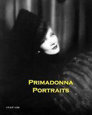 """MARLENE DIETRICH 8X10 Lab Photo 1934 """"SCARLET EMPRESS"""" FUR HAT & MUFF Portrait"""