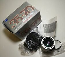 CONTAX Carl Zeiss Vario-Sonnar 35-70/3.5-5.6 Zoom Lens for G1 G2 Camera in Box