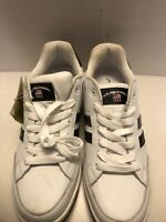 US Polo Assn White Athletic Shoes Size 11 New With Defects