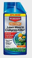 BioAdvanced LAWN WEED CRABGRASS KILLER Concentrate Rainproof Grass Dandelion 32z
