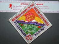 Boy Scout 1979 NOAC patch 9039K