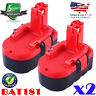 2X NEW For Bosch BAT025 BAT026 BAT160 BAT180 BAT181 BAT189 18V NiCd Battery Tool