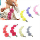 Cute Baby Kids Dummy Pacifier Soother Nipple Leash Strap Chain Clip Holder S