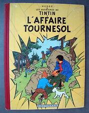 TINTIN HERGE L'AFFAIRE TOURNESOL EO FR B19 DANEL 1213 BON ETAT