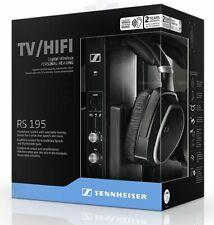 Sennheiser RS195 Wireless Digital TV Headphones Black - NEW