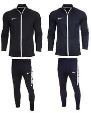 Nike Mens Full Tracksuit Zip Jacket Bottoms Pants Football Training Academy 1269 L Black