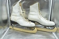 Riedell White Figure Skates Women's Size 7