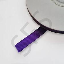 Various Colours Grosgrain Ribbon 10mm X 1 Metre Sample Length Purple