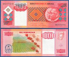 ANGOLA 1000 Kwanzas 2011  UNC  P.150 b
