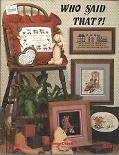 Who Said That Bk 45 Stoney Creek Collection PB 1987