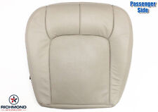 2000 Cadillac Seville STS -Passenger Bottom Replacement Leather Seat Cover Tan