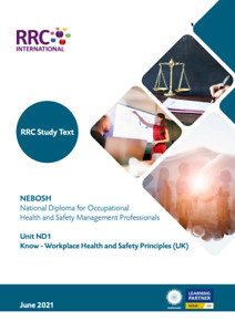 RRC: NEBOSH National Diploma for Occupational H&S Management Professionals (ND1)