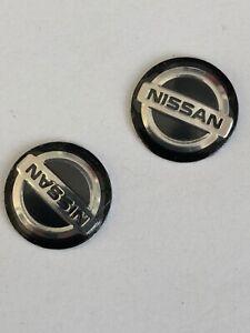 Nissan Keyring Sticker x2 for standard flip key Nissan Juke Patrol Navara
