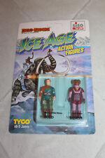 Dino Riders Ice Age Action Figuren Ecco & Squish (Tyco 1990)