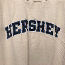 "Hershey Park X-Large White Cotton ""Champion"" White Athletic Shirt"