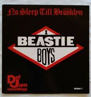 "🛑BEASTIE BOYS  ⚠️unplayed⚠️ 1986-7""-No Sleep Till Brööklyn-Def Jam 6508417"