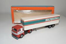 X TEKNO SCANIA 141 TRUCK WITH TRAILER BROERSMA EXCELLENT BOXED