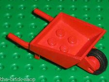 Brouette LEGO FABULAND red Wheelbarrow 503c01 / Set 3615 325 3787 3714 ...