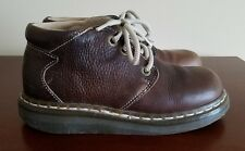 Dr Martens Original Made in England 4 Eye Brown Leather Boots Women's Size 4