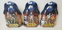 $60 value- Lot of 3 STAR WARS ROTS Clone Troopers MOC 38-AT-TE 33-COMMANDER 6