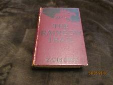 "1915 ""The Rainbow Trail"" by Zane Grey Hardcover Grosset & Dunlap"