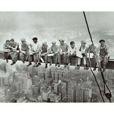 "LUNCH ATOP A SKYSCRAPER POSTER - ROCKEFELLER CENT NY 1932 - 91 x 61 cm 36 x 24"""