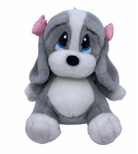 Applause Puppy Dog Sad Sam's girlfriend Honey gray white pink bows whimper sound
