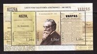 Lithuania 2016 J.Basanavicius,doctor, Signatory of the Act of Independence MNH**