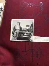 N1-8 Ephemera 1972 Picture Car Reg A Actor Klair Bybee L A