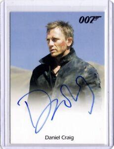 James Bond Mission Logs 2011 Autograph Card, Daniel Craig, Quantum Of Solace