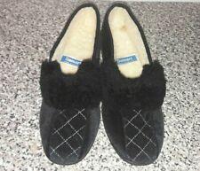 Vintage Half Cuff Fur Collar Slippers UK 7 (NEW) RARE