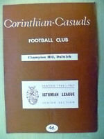 Isthmian League 1966/67- TOOTING & MITCHAM v CORINTHIAN CASUALS, 11th February