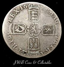 1695 William III Silver Crown Coin