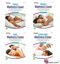MATTRESS COVER Fitted Mattress Protector Single / Double / King / Super King UK