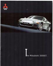 MITSUBISHI 3000 GT 1999 UK Opuscolo Vendite sul mercato