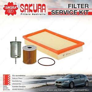 Sakura Oil Air Fuel Filter Service Kit for Volvo S40 V40 1.9L 2.0L Petrol 4Cyl