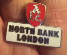 ARSENAL AFC NORTH BANK ENAMEL PIN BADGE