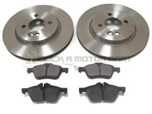 MINI ONE COOPER, COOPER S R50 R53 2001-2006 FRONT 2 BRAKE DISCS AND PADS SET NEW