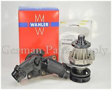 BMW Genuine Original Water Pump + O-Ring + Wahler Thermostat + Housing & Sensor