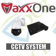 MaxxOne PTZ CCTV Camera & Controller with 3D Pan/Tilt/Zoom Keyboard 1080p HD