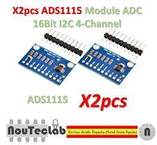 2pcs ADS1115 Module ADC Module 16Bit I2C 4-Channel ADS 1115 with Gain Amplifier
