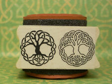 Tree of Life Knotwork Double Rubber Stamp Set #488 * New in store