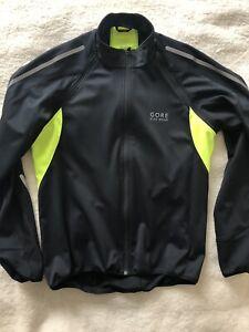 Gore Bike Wear Phantom, Gore-Tex Windstopper Soft Shell Jacket, Black, Large