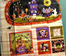 """""""Boppity Boo"""" by Red Rooster Fabric, Halloween Table Mat/Candle Mat/Pillows"""