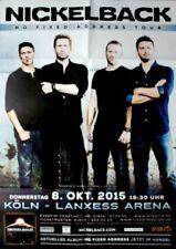 NICKELBACK - 2015 - Konzertplakat - Concert - No Fixed... - Touposter - Köln