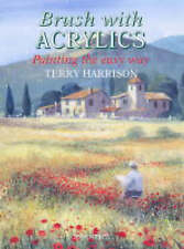 Brush with Acrylics, Acceptable, Terry Harrison, Book