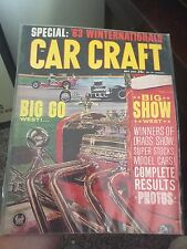 1963 Car Craft Issue Magazine Winter Nationals Gasser Midget Vintage Rods