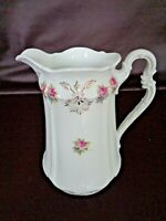 Carl Tielsch Antique Porcelain Water Pitcher Made In Germany