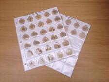 Pagine album monete classico per £ 1-decimale Una Sterlina Moneta RACCOLTA A COLORI